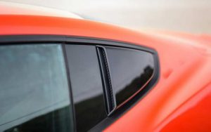 Roush Quarter Window Scoops for 2015 2016 Mustang