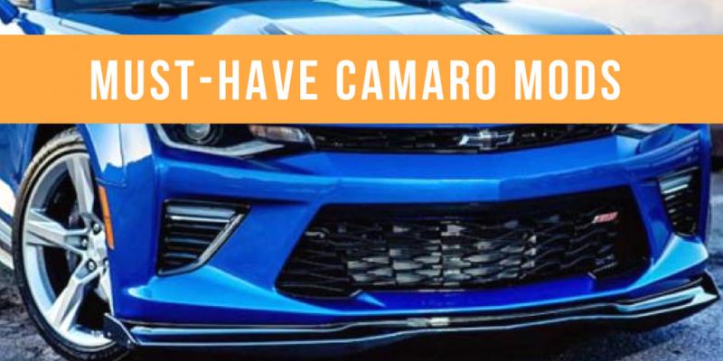 Must-Have Camaro Mods