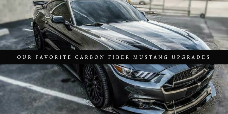 Our Favorite Carbon Fiber Mustang Upgrades