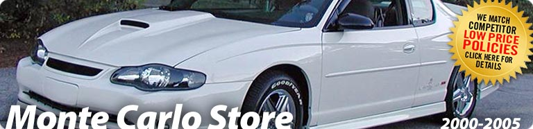 2000 2005 Chevy Monte Carlo Accessories