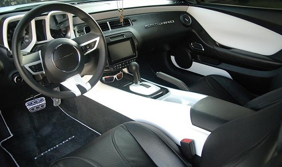5th Generation Camaro Custom Painted Interior Door And