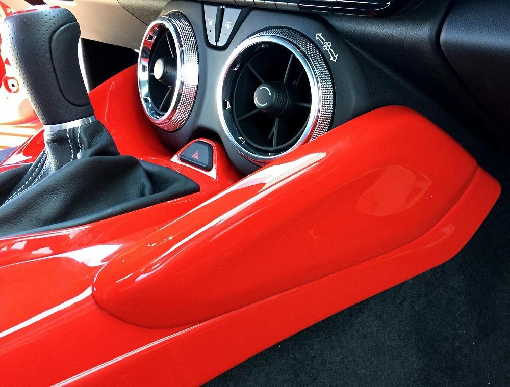 Custom Painted Knee Bolsters For 2016 2018 Camaro Pfyc