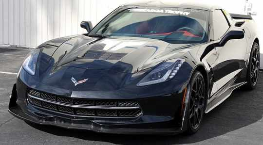 APR Front Air Dam Splitter Carbon Fiber for C7 Corvette