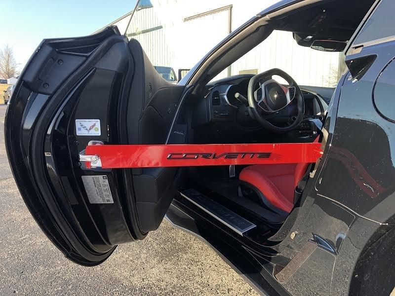 Car Show Door Prop Bars For C7 Corvette Pfyc