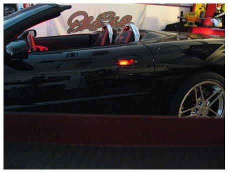 Led Door Handle And Under Door Puddle Lighting Kit For C5 Corvette Pfyc