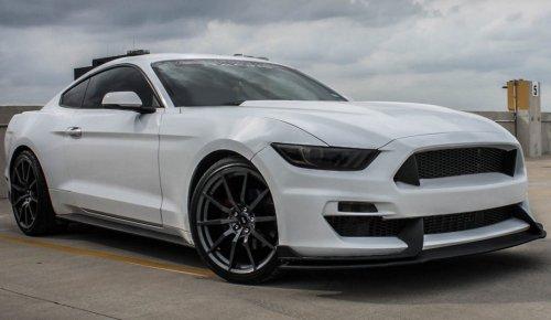 Fibergl Front Per W Lip For 2017 Mustang Gt 350 Style Pfyc