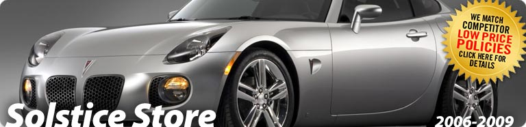 Pontiac Solstice Parts