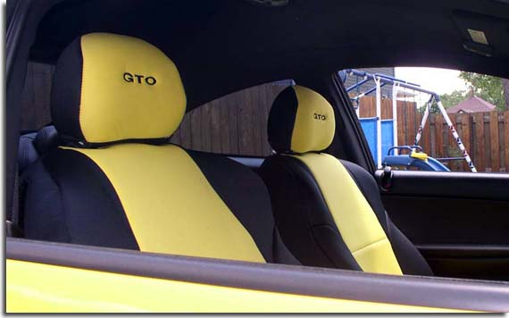 Amazing Custom Fit Seat Covers For 2004 2005 2006 Pontiac Gto Pabps2019 Chair Design Images Pabps2019Com