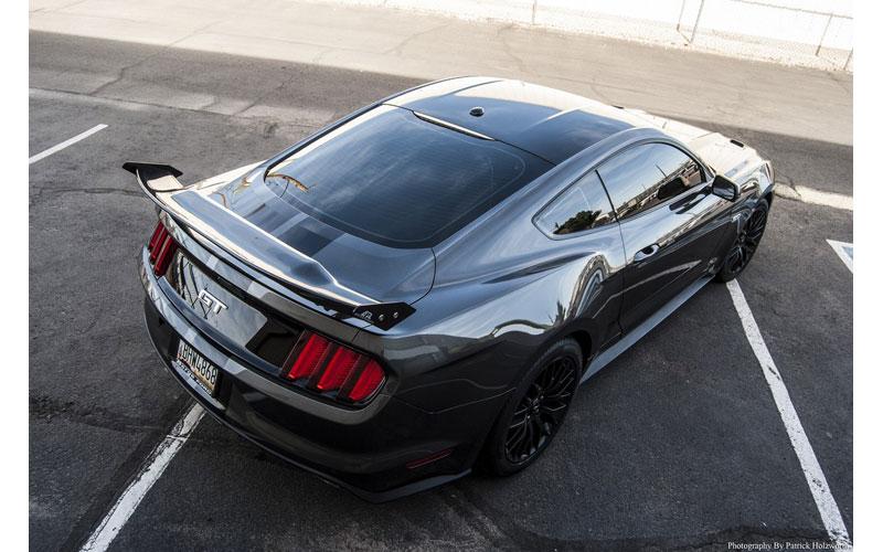 2015 2017 Mustang Apr Carbon Fiber Gtc Drag Rear Wing Pfyc