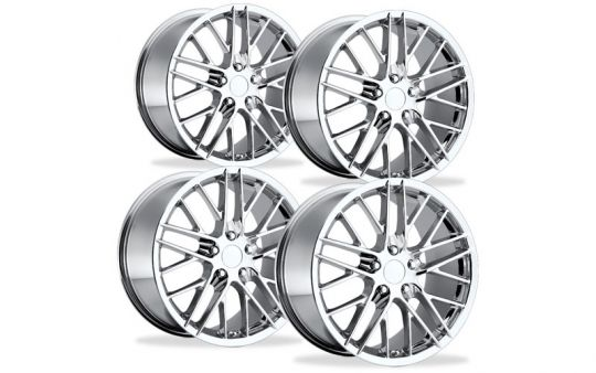 C5 Corvette ZR1 Reproduction Wheel Set - Chrome