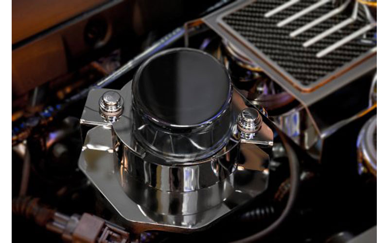 C7 Corvette Polished Stainless Vacuum Pump Actuator Cover