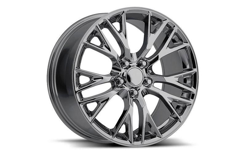 2005 Corvette For Sale >> C7 Corvette Z06 Reproduction Wheels Set - Chrome | PFYC