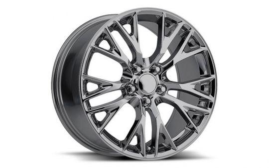 C7 Corvette Reproduction Wheels >> C7 Corvette Z06 Reproduction Wheel Set Chrome