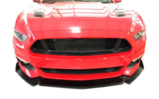 Painted Stage 1 Front Splitter Spoiler For 2015 2017 Ford Mustang Pfyc