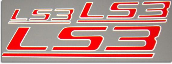2015 Camaro Ss For Sale >> LS3 Decals 2008-2013 C6 Corvette 2008-2009 G8 GXP 2010 ...