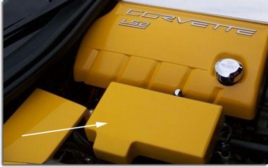body color painted fuse box cover for c6 corvette pfyc rh pfyc com C6 Corvette Seat Cover Tan C6 Corvette Car Cover