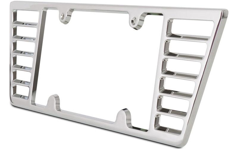 Billet Aluminum License Plate Frame for C6 and C7 Stingray Corvette ...