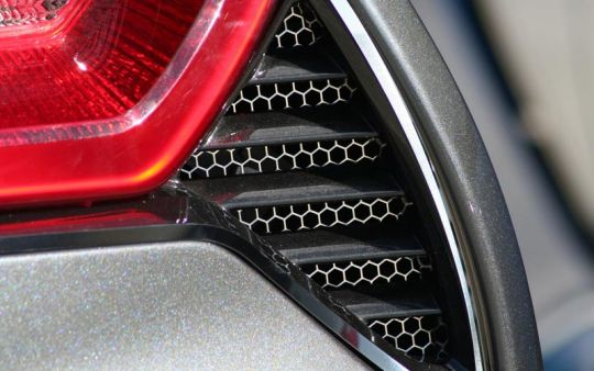 Matrix Series Tail Light Vent Grilles for C7 Corvette Stingray