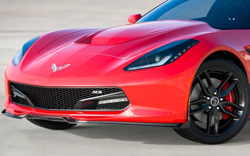 Acs Five1 Front Lip Splitter Spoiler For C7 Corvette
