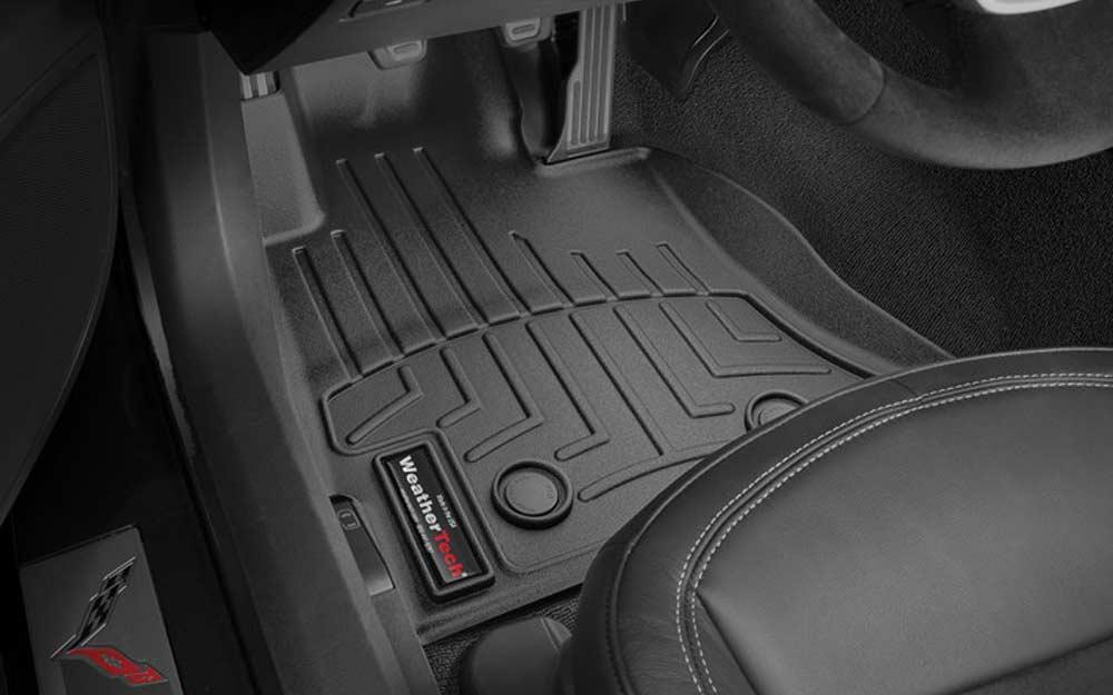 weathertech digital fit floor liner mats for c7 corvette