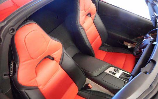 Custom Fit Seat Covers for 2014-2018 C7 Corvette Stingray   PFYC