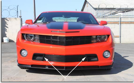 2005 Corvette For Sale >> Street Scene Lower Grille Ducts 2010-2013 Camaro SS | PFYC