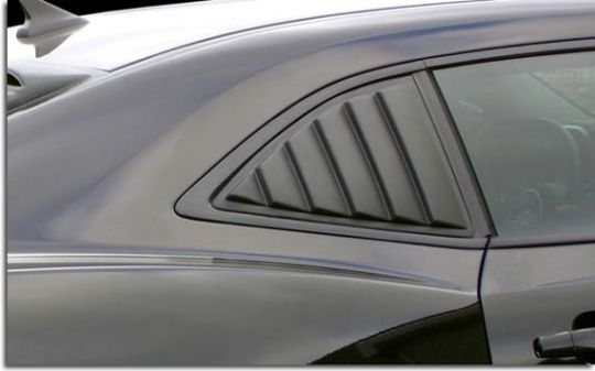 Side Window Louvers for 2010-2015 Camaro