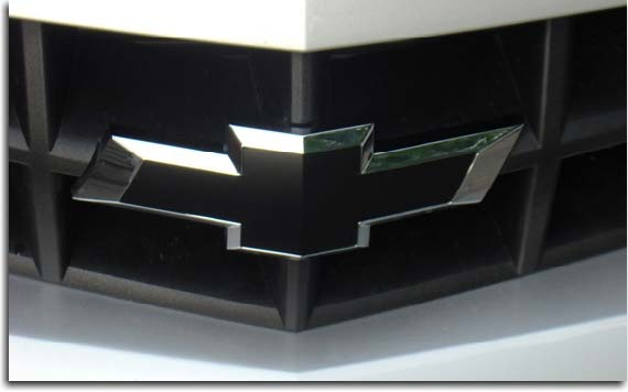 Front Chevy Bowtie Overlay Decal For 2010 2015 Camaro PFYC
