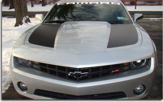 Side Hood Stripes For Camaro Pfyc