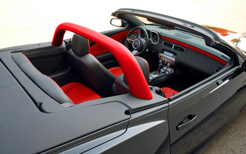Convertible Sport Bar Hoop For 2011 2015 Camaro Pfyc