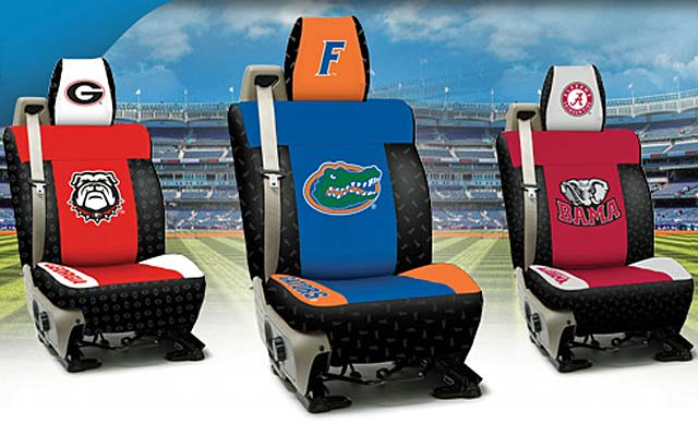 Licensed Collegiate Custom Seat Covers For 2010 2015 Camaro