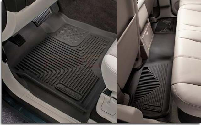 2007 Chevy Tahoe For Sale >> Husky X-Act Contour Rubber Floor Mats for 2007-2014 Escalade Tahoe | PFYC
