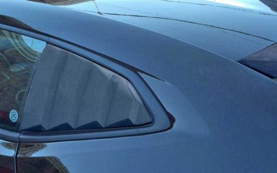 Side Window Louvers for 2016 2017 Camaro