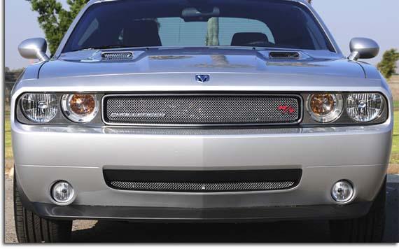 T Rex Sport Series Chrome Mesh Grille For 2009 2014 Dodge Challenger Pfyc