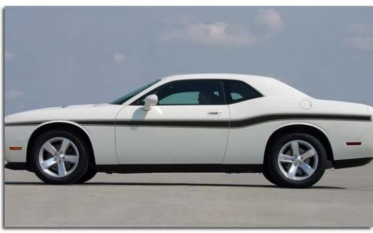 Beltline Body Stripe Kit for 2008-2017 Dodge Challenger