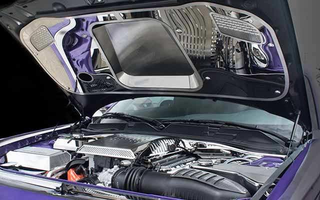 Hellcat Challenger For Sale >> Challenger Hellcat Polished or Brushed Underhood Panel | PFYC