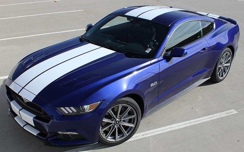 What S A Good Stripe Color For My Kona Blue Mustang Gt And
