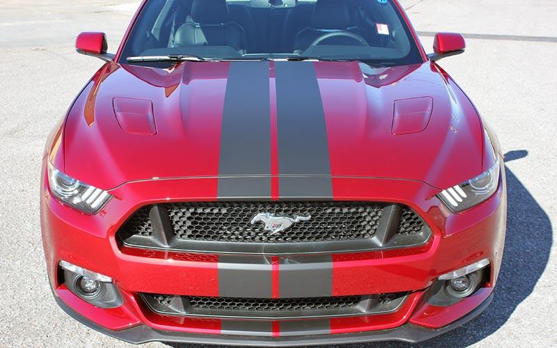 Stallion Slim Full Body Stripe Kit For 2017 2016 Ford Mustang Pfyc