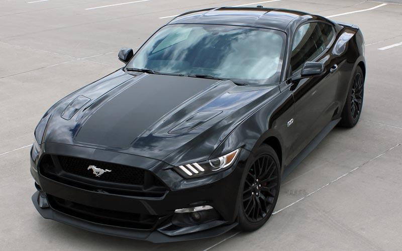Mega Hood Stripe Kit For 2015 Ford Mustang Pfyc Com