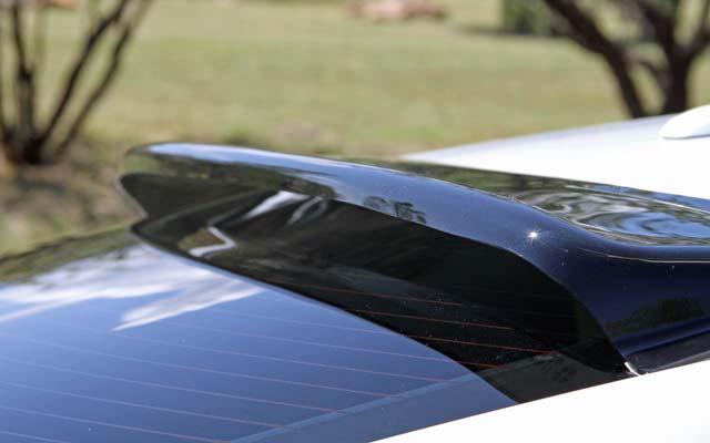 Rear Window Solar Wing Roof Spoiler For 2015 Mustang