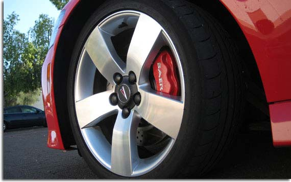 Baer Pro Plus Big Brake Kit For 2008 2009 Pontiac G8 Pfyc