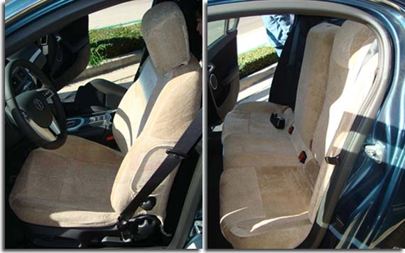 Custom Fit Seat Covers For 2008 2009 Pontiac G8 Pfyc