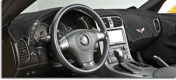 Covercraft Custom Fit Dash Cover for Select Chrysler New Yorker Models Soft Foss Fibre Carpet 0105-00-79 Cinder