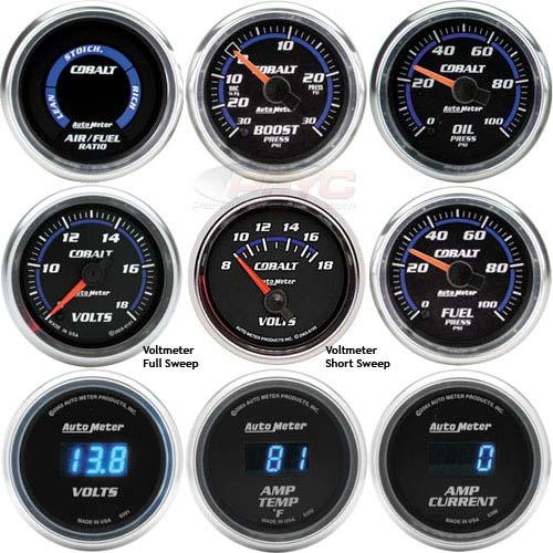 2005 Corvette For Sale >> Auto Meter Cobalt Gauges   PFYC
