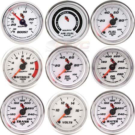 Auto Meter C2 Gauges