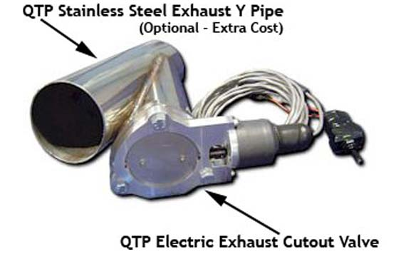 quick time electric exhaust cutout
