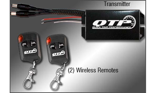Wireless Remote Control For Quick Time Electric Exhaust