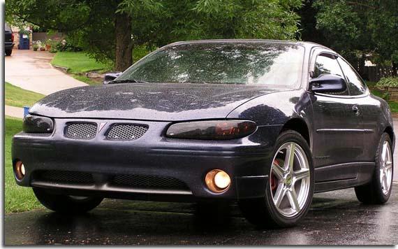 Gts Smoke Headlight Covers For 1997 2003 Grand Prix Pfyc2002 Pontiac Headlights 3