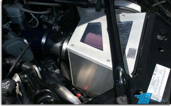 Worksheet. Cold Air Induction System for Grand Prix GXP  PFYC