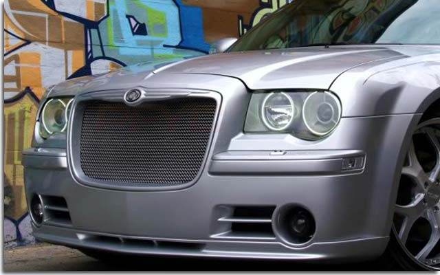 Deep Dish Grille For Chrysler 300 Pfyc